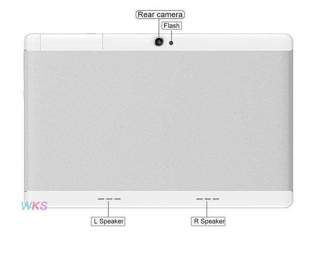 Original 10 inch 3G/4G Phone tablet PC Octa Core RAM 4GB ROM 64GB 1920*1200 IPS Dual SIM card tablets pcs 10 10.1 free Shipping 2