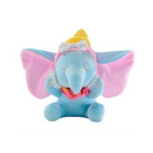 1 pc 25cm Cartoon Dumbo Elephant Plush Doll Children Soft Baby Animal Toys Cute  Mobile Toy