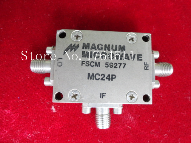 [BELLA] MAGNUM MC24P 1MHZ-3.4GHZ RF Coaxial Double Balanced Mixer SMA