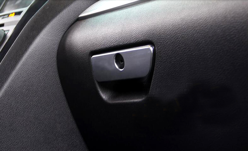 Storage Box Handle Cover Trim 1pcs For Ford Explorer 2011 2012 2013 2014 2015 2016 Car Interior
