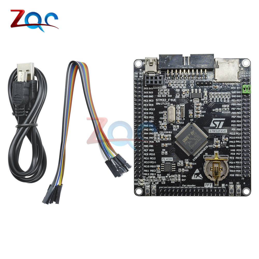 цена на STM32F407VET6 Development board Cortex-M4 STM32 minimum system learning board ARM core board Module