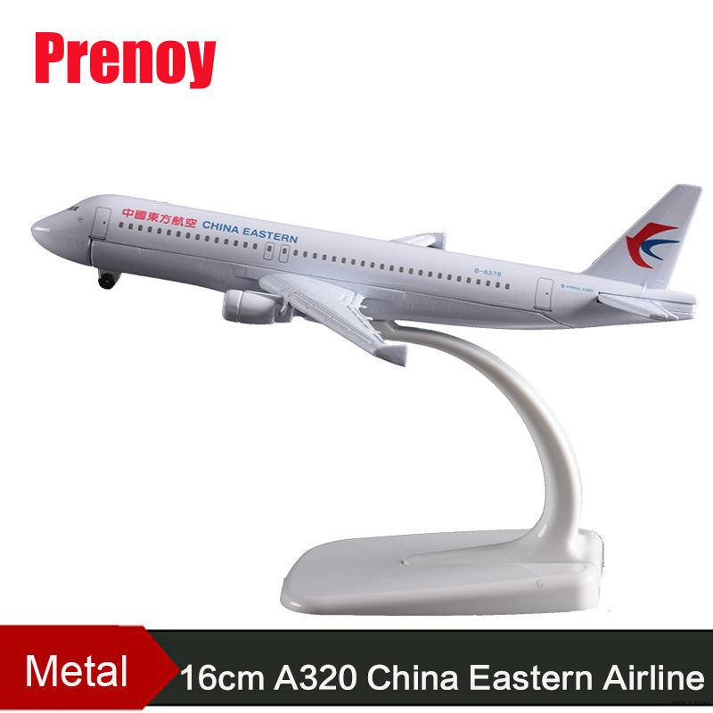 16cm A320 China Eastern Airline Aircraft Model Airbus Eastern Airway Airplane Static Mod ...