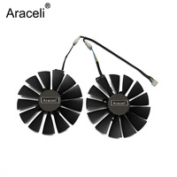 FDC10M12S9-C 12V 0.25AMP 95mm VGA Fan For ASUS STRIX RX 470 570 580 RX470 RX570 RX580 Gaming 4PIN 13 blades Cooling Fan