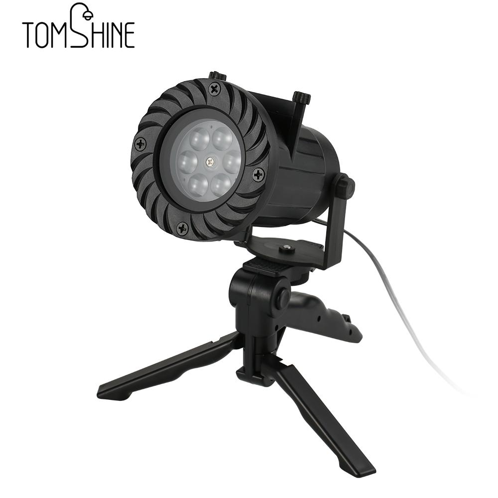 Remote Controlled Projector Lamp Indoor Outdoor Waterproof Celebration Decorative 12 pattern Automatically LED Spotlight Lamp