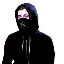 Настроить вышивка Alan Walker Faded Cotton маска унисекс пыле дышащий езда рот маска для Для женщин Для мужчин студент для мальчиков и девочек