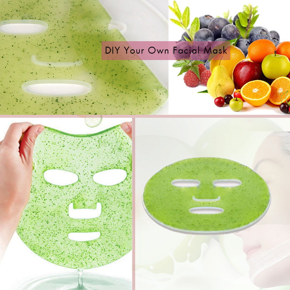 Image 3 - Automatic Fruit Face Mask Maker DIY Natural Collagen Facial Masks Machine Therapy Face Mask Machine Beauty Facial SPA Skin CareFace Skin Care Machine   -