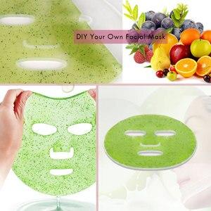 Image 3 - Mini fabricant automatique de masque de visage de Fruit bricolage masque Facial de collagène naturel Machine masque Facial dispositif beauté SPA Facial soins de la peau