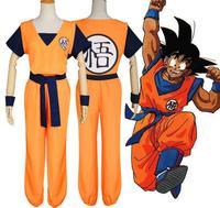 Dragon Ball Son Goku Son Gohan Cosplay anime Dragon Ball Z DBZ Super Cosplay Peruca Vestiti/Pantaloni/Cinghia/parrucca