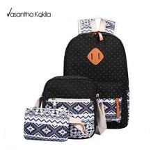 Девушка Школьные Сумки Для Подростков рюкзак set женщины плеча сумки 3 Шт./компл. рюкзак mochila ранец TNT104