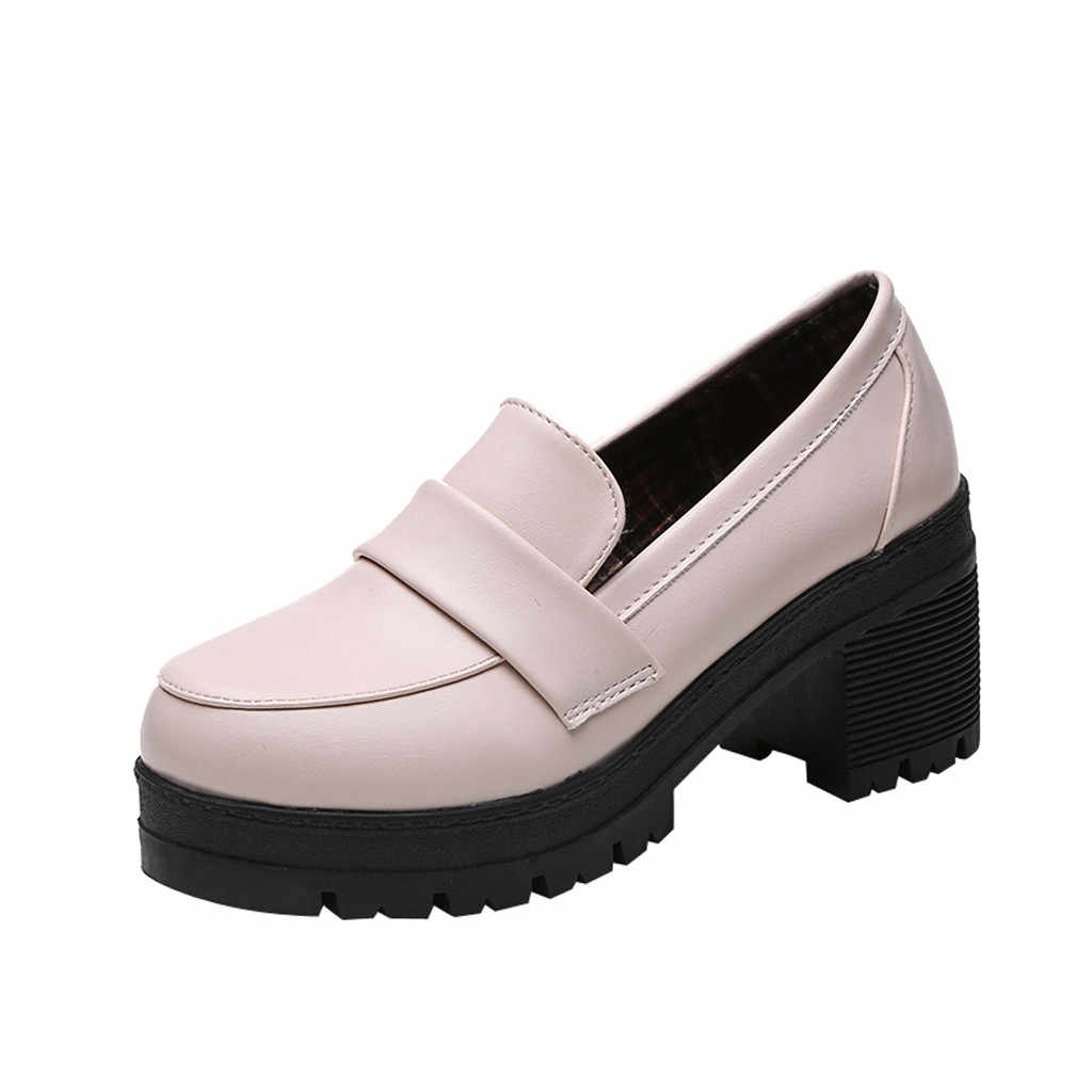 SAGACE kadın botları yeni moda rahat deri Slip-On kadınlar Martin ayakkabı altın Metal yuvarlak ayak kadın çizmeler Dropshipping 62115