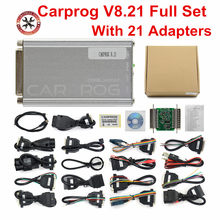 Carprog V8.21 outil de réparation automobile, Version en ligne, ensemble complet, Firmware 8.21 ECU, meilleur que Carprog V9.31
