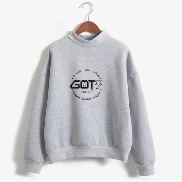 GOT7  Emblem w/ Brand Member Pullover Sweaters