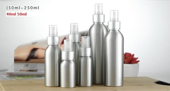 alumite silvery 40ml 50ml,10pcslot, aluminum spray bottle,metal hydrolat bottle,perfume astringent bottle with cross line