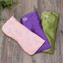 цена на 1pc Yoga Eye Pillow Silk Cassia Seed Lavender Massage Relaxation Mask Aromatherapy