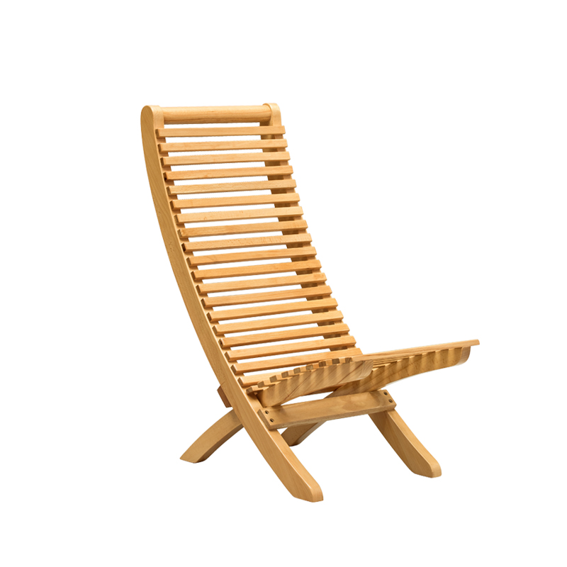 Solid Beech Wood Chair Foldable Indoor Folding Seat Chair for Outdoor Patio, Backyard or Garden Furniture Wooden Dining Chair modern wood rocking chair wooden furniture presidential rocker white finish indoor outdoor balcony porch garden adult armchair