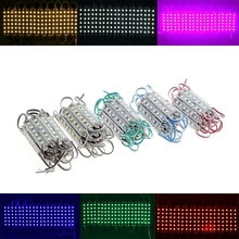 5050 SMD 6 led Module Light Waterproof Fairy Strip IP65 DC 12V Green Red Blue white For Channel Letters Advertising Lamps DHL