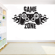 лучшая цена Xbox Gamer wall sticker Eat Sleep Game wall decal Controller PS4 video game Decor decals For Kids Bedroom Vinyl Art Murals G919