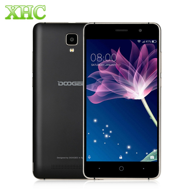 Doogee X10 8GB WCDMA 3G Smartphone 3360mAh 5.0inch Cellphone 5MP MTK6570 Quad Core 1.3Ghz Android 6.0 RAM 512MB Mobile Phone