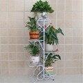 Европейский цветок сад горшок стойки балкон пол утюг multi номер крытый зеленые орхидеи висит полки специальное предложение