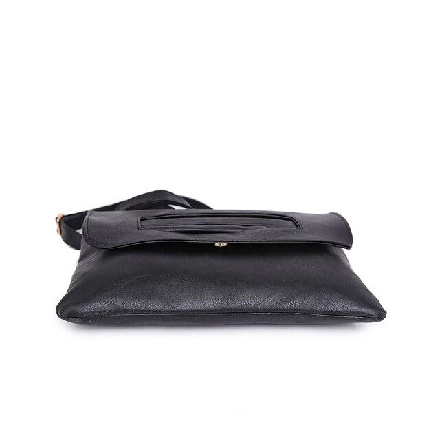 SWDF New Fashion Women Envelope Clutch Bag Leather Women Crossbody Bags Women Trend Handbag Messenger Bag Female Ladies Clutches 4