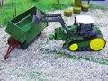 Gran Tamaño de control Remoto Excavadora Eléctrica Grande Multifuncional rc granja remolque camión tractor de Juguete Excavadora de Juguete Rc
