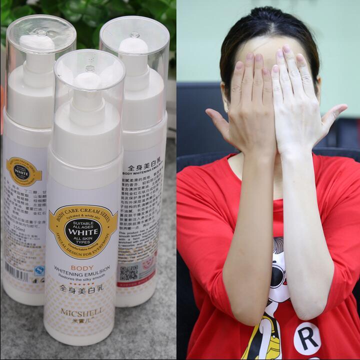 Crème de blanchiment de la peau