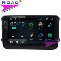 TOPNAVI Android 7,1 четырехъядерный 8 автомобильный dvd плеер с JPS и навигацией для VW Jetta/Sagitar/Passat/Golf/Bora/Octavia/Magotan Универсальный стерео MP3