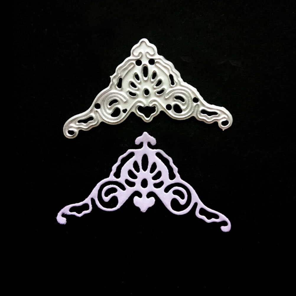 New Lace Corner Metal Cutting Dies For DIY Scrapbooking Paper Album Embossing Valentine's Day Gift Card Decorative Crafts Newest