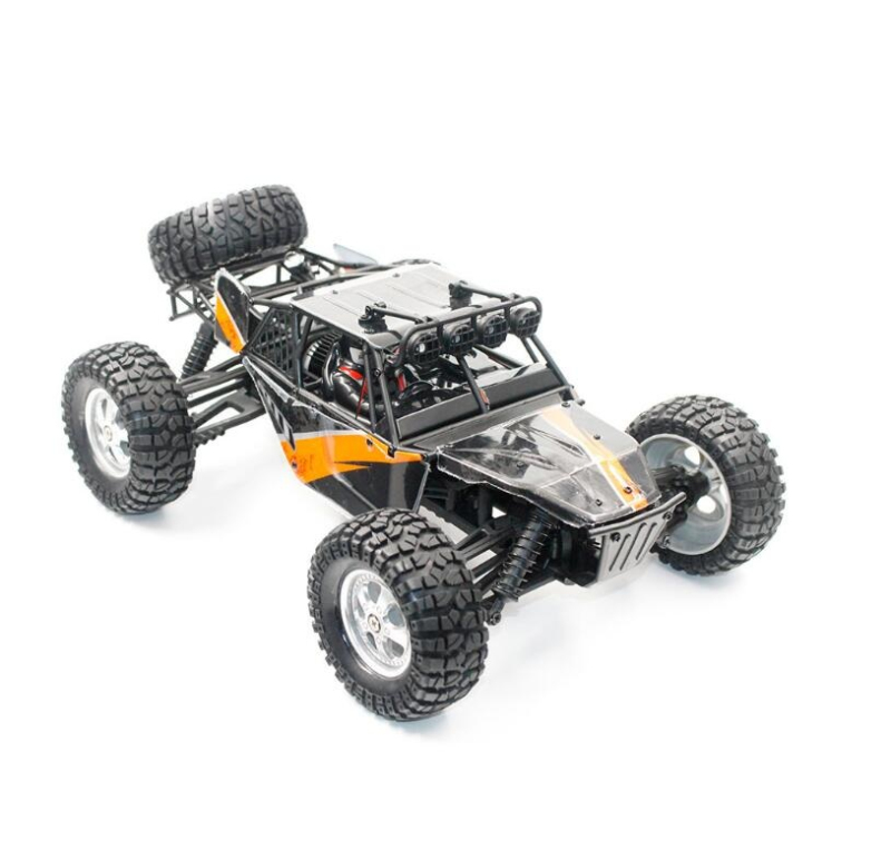 High Quality Desert Cross-Country Remote Control Truck Model 2.4G Waterproof 1:12 12Mins Sports Competition Special Racing Truck lc racing high quality 1 14 series car accessories l6062 desert truck anti roll frame group cross country racing speed card