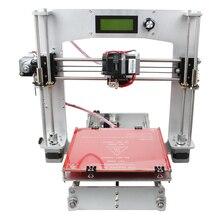 Полный Алюминиевый Prusa I3 3D Печати DIY Kit 5-I3 Нитей Совместимость ЖК-Экран 200x200x180mm