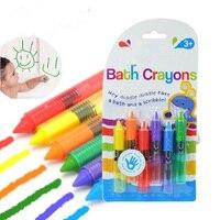 Kawaii 6 Pz set Pastello olio pastelli Pastelli Cancellabili per bambini carino bambini divertenti giocattoli Non tossici environmet arte marcatori 1 set