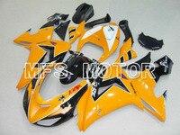 Для Kawasaki NINJA ZX10R 2006 2007 06 07 Впрыска ABS обтекатель Комплекты NINJA ZX 10R 06 07 Другие Orange/Black