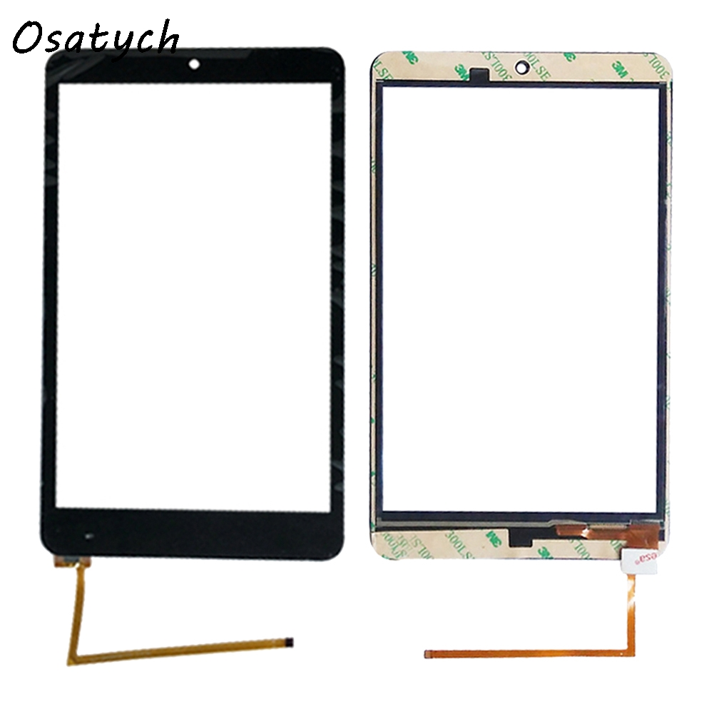 High Quality Black New for 8 inch OLM-080D0838-FPC ZJX 5J Touch Screen Digitizer Glass Sensor Replacement Parts Free Shipping for dexp ixion m150 lcd touch screen digitizer outer glass high quality replacement parts black