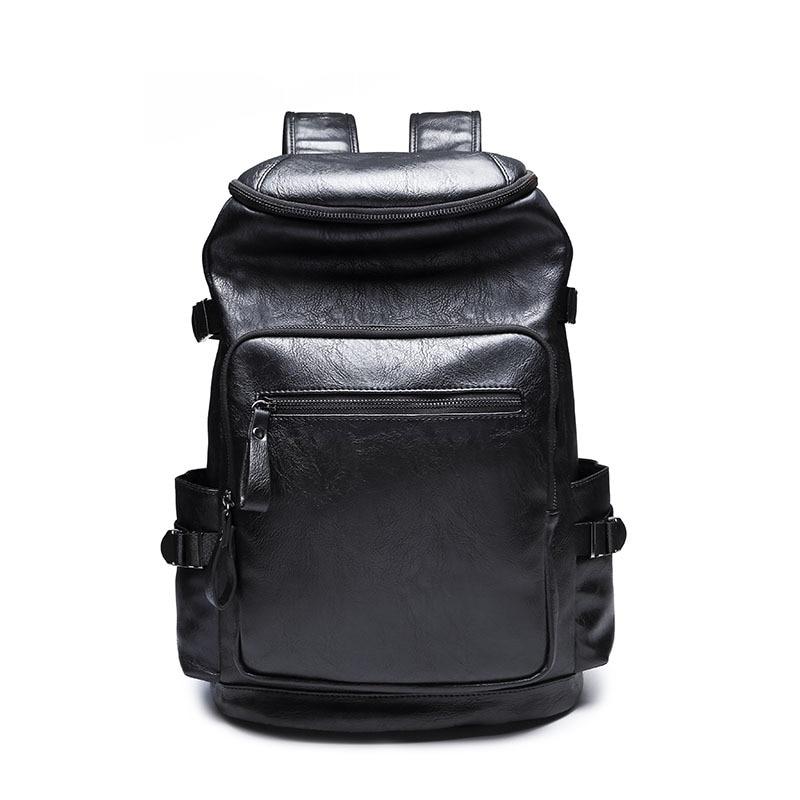 Grand sac à dos en cuir sac à dos sacs à dos pour ordinateur portable pour homme sac d'école pour femmes sacs de voyage sac à dos masculin sac mochila hombre