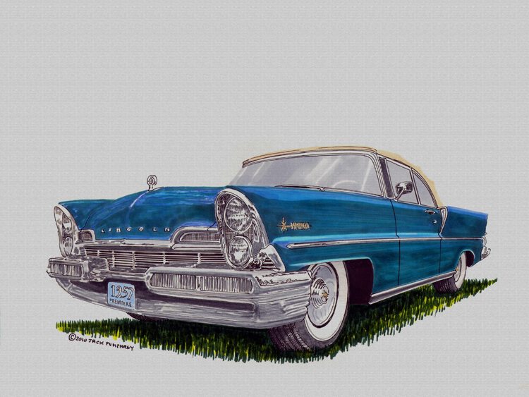 Vehicle Acrylic Paintings