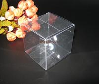 PVC Plastic Packaging Box Clear Transparent Wedding Favor Gift Boxes