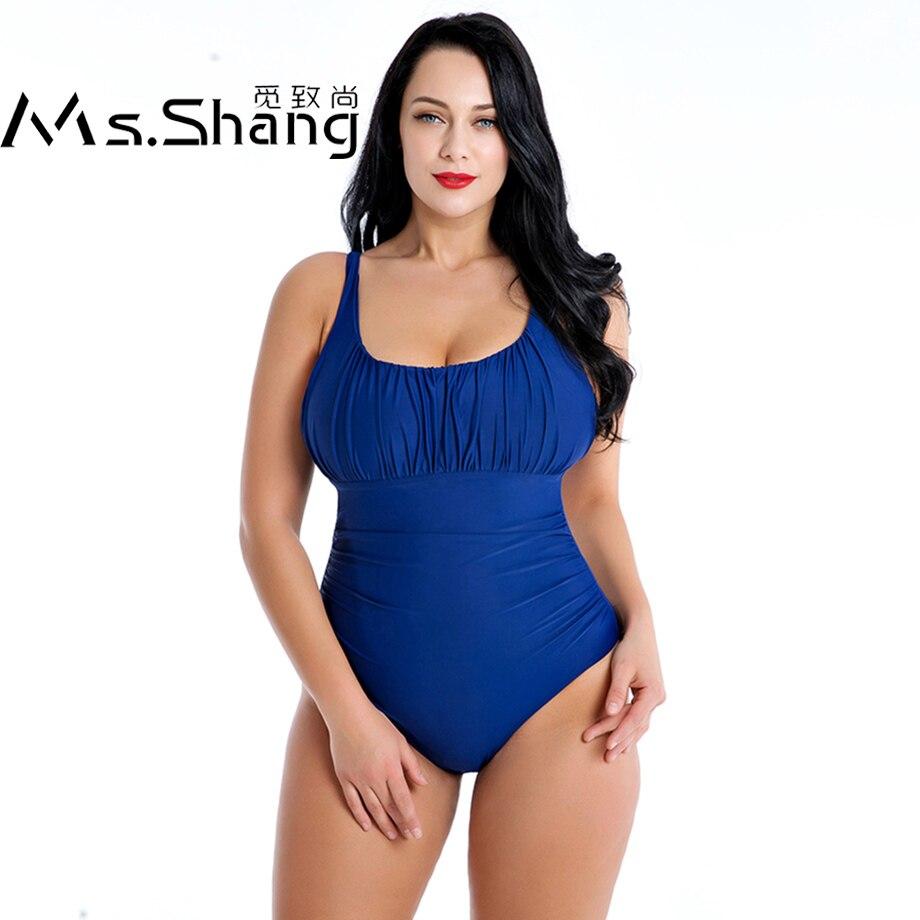 One Piece Women Plus Size Swimsuit