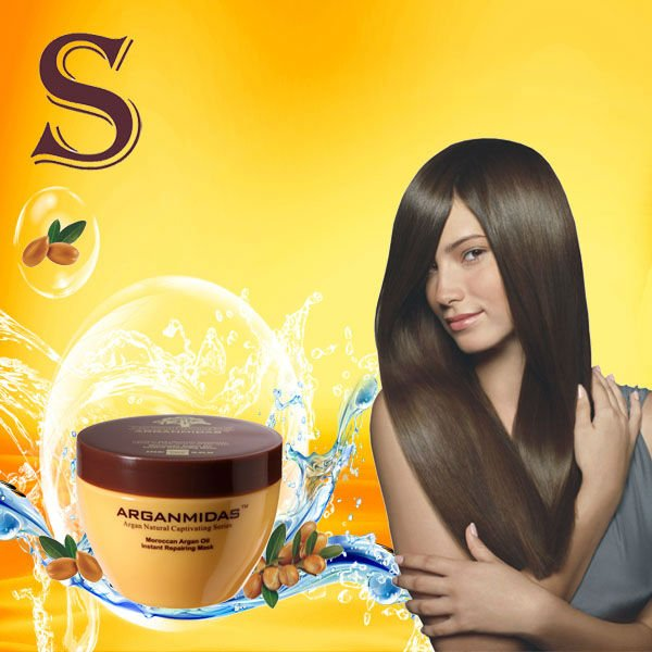 Arganmidas Instant Repairing Mask the best hair treatment for dry hair free shipping