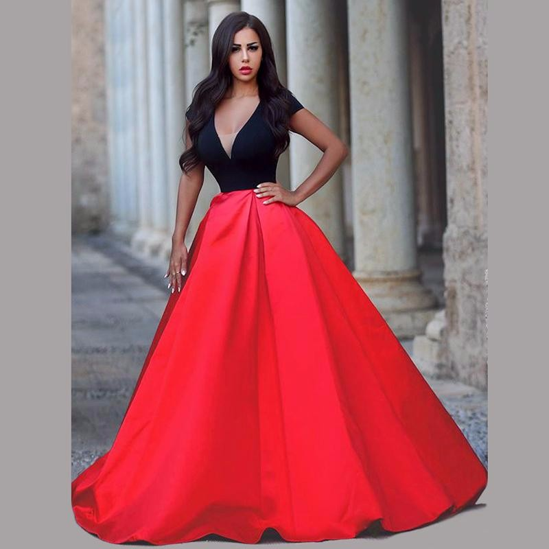 Popular Plus Size Red Evening Gown-Buy Cheap Plus Size Red Evening ...