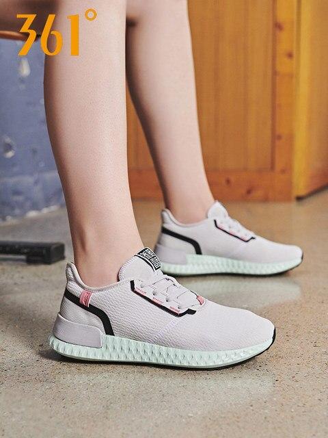361 градусов женские кроссовки Воздухопроницаемый Легковесный 2019 новый стиль спортивные кроссовки для улицы 681936723