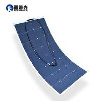 160 Вт Гибкая солнечная панель high effciency cell фотоэлектрических Модуль 12 В в батарея системы комплект для RV яхты автомобиля мощность зарядное ус