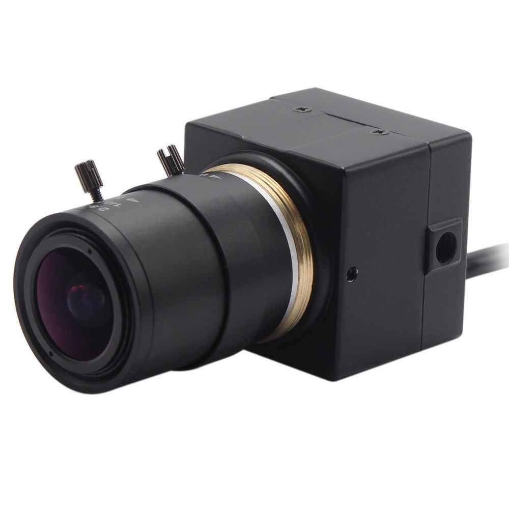 8MP HD SONY IMX179 USB видеокамера Super mini box маленькая usb-камера с переменным фокусным расстоянием 2,8-12 мм для Android, Linux, Windows