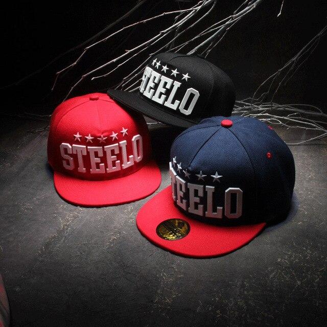 2016 Nueva casual steeelo letras Pentagram goma hiphop beisbol snapbacks  baile cappelli sombreros de hip hop 0af3c772592