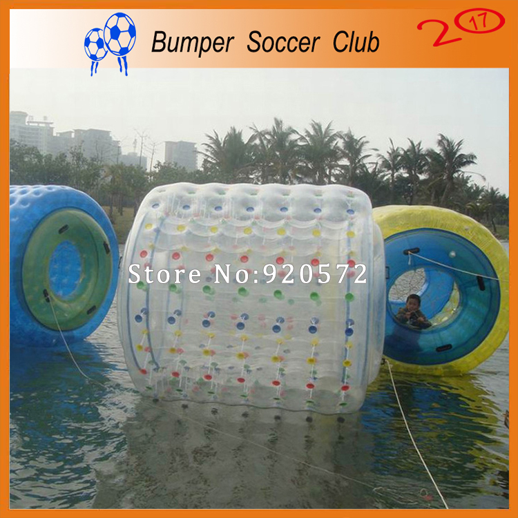 Free shipping ! 1.0mm TPU Inflatable Water Roller Ball Walk On Water Ball Aqua Rolling Ball,Roller Wheel Wheel For Adults Or Kid 1 5m long aqua roller for amazing games free air pump inflatable water floating wheel for adult
