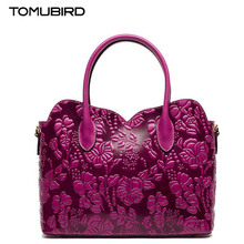 Tomubird2016 new high-quality fashion luxury brand handbag genuine leather shoulder bag counter genuine, well-known women