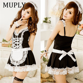 Sexy Lingerie Sexy Underwear Lovely Female Maid Lace 1