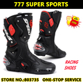 Hot Sales Long Motorcycle Shoe Sport Motocross Cycling Long Boots Racing Gears B1001