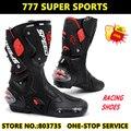 Ventas calientes Zapato Sport Motocross Ciclismo Largas Botas Larga Moto Racing Engranajes B1001