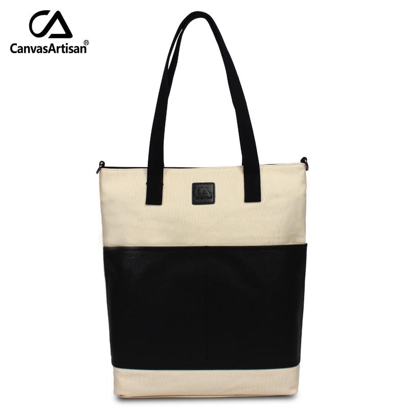 Canvasartisan Brand New Women Waterproof Canvas Bag Vintage Shoulder Crossbody B