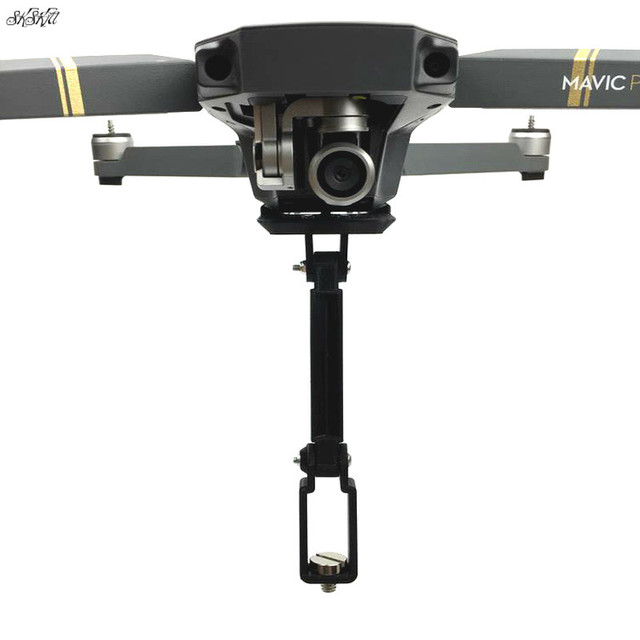 For Gopro Hero 6 5 4 3 & osmo action & Panoramic camera Mount Holder extend arm For DJI Mavic Pro drone Accessories